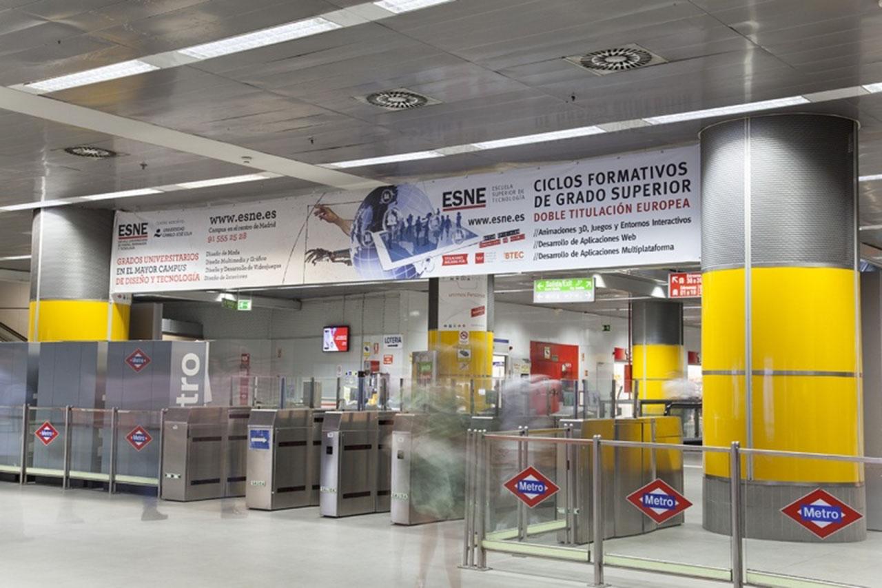 Publicidad y tránsito de viajeros - ESNE, Escuela Universitaria de Diseño, Innovación y Tecnología