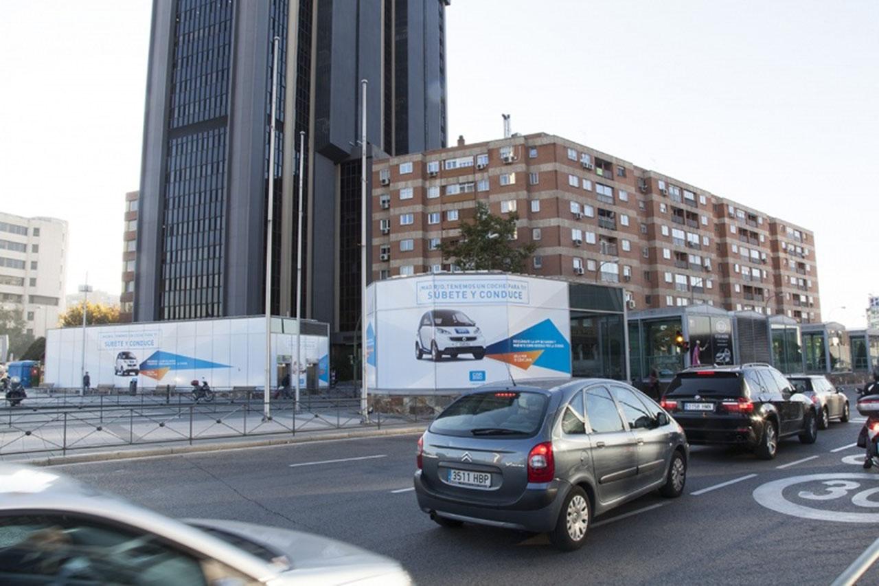 Visibilidad publicidad exterior Madrid