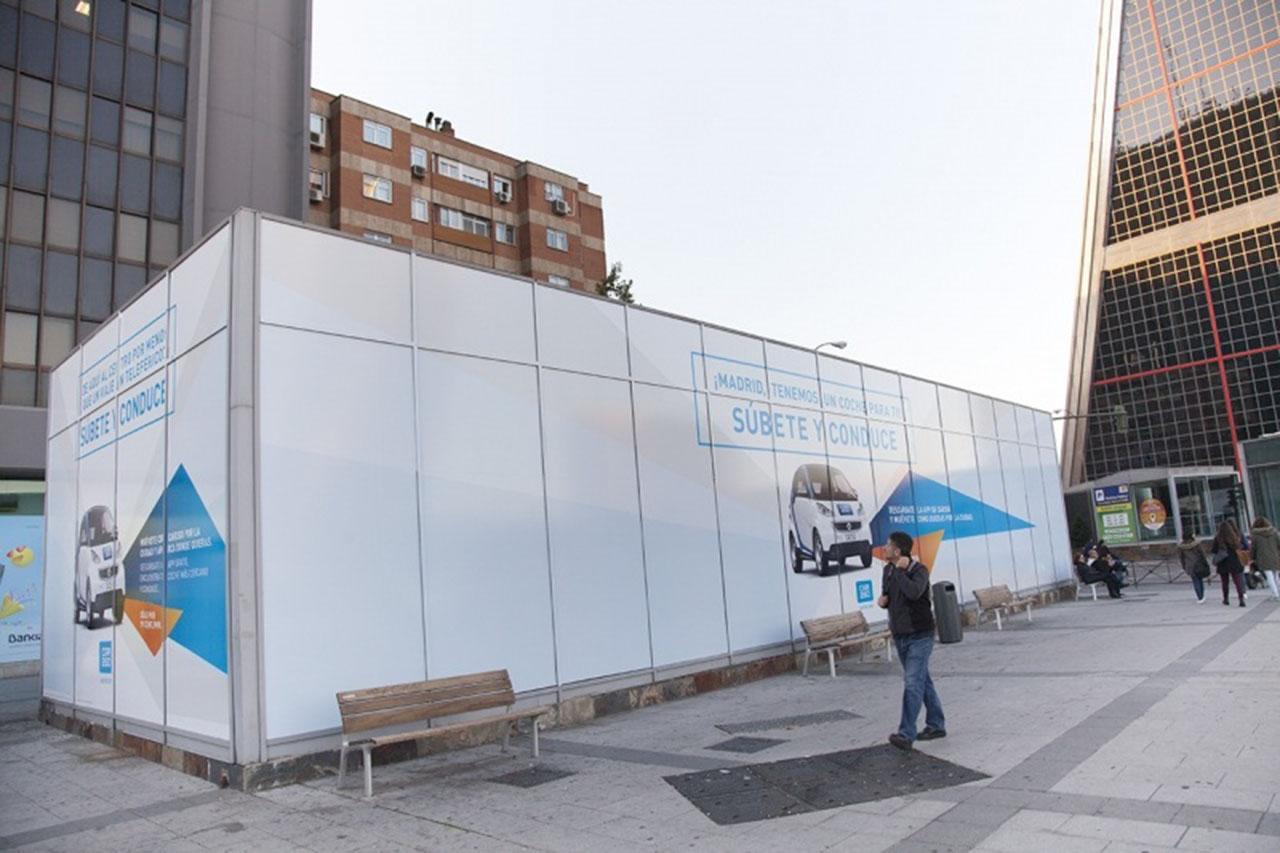 Espacios publicidad espectacular Madrid
