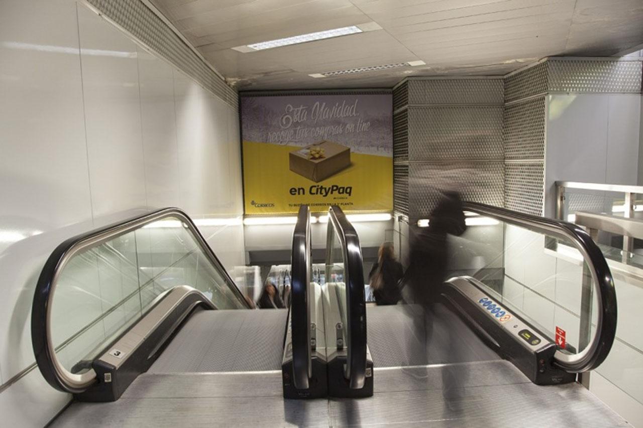 Publicidad alto impacto Citypaq