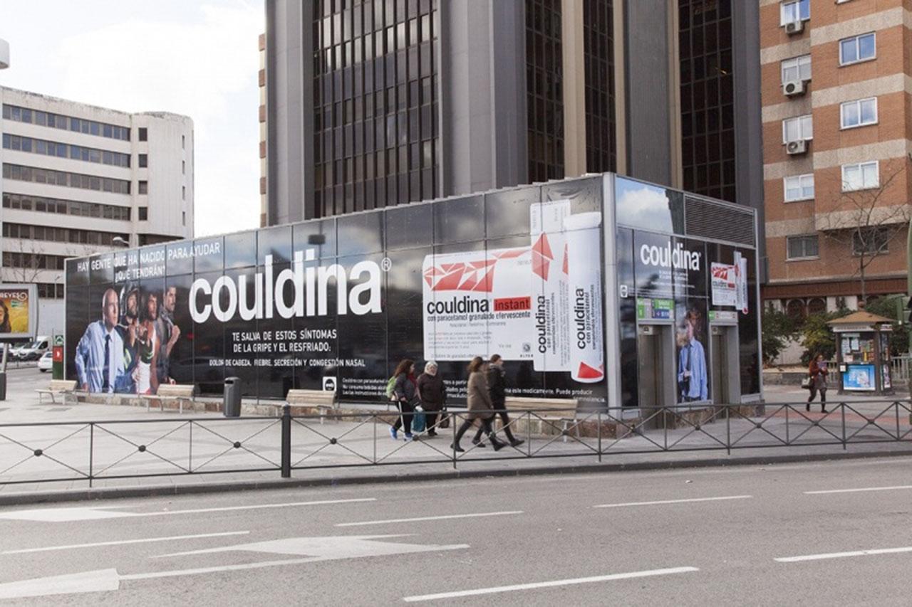 Marketing espectacular en Madrid - Couldina
