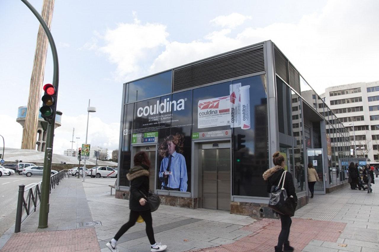 Publicidad espectacular en Madrid - Couldina
