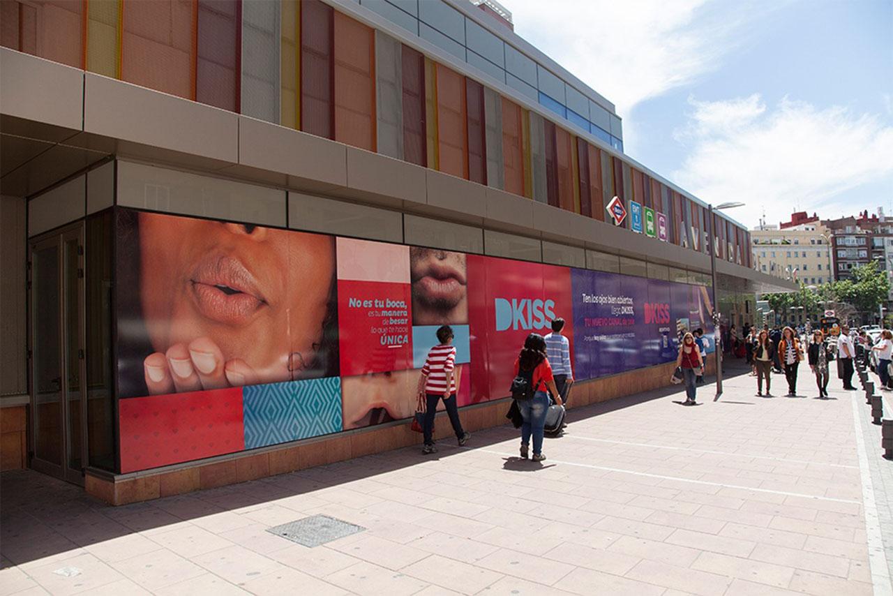 Publicidad exterior DKiss