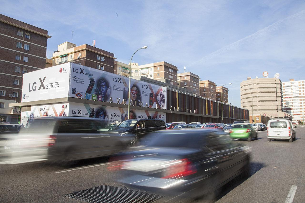 Campaña de gran impacto en Madrid LG