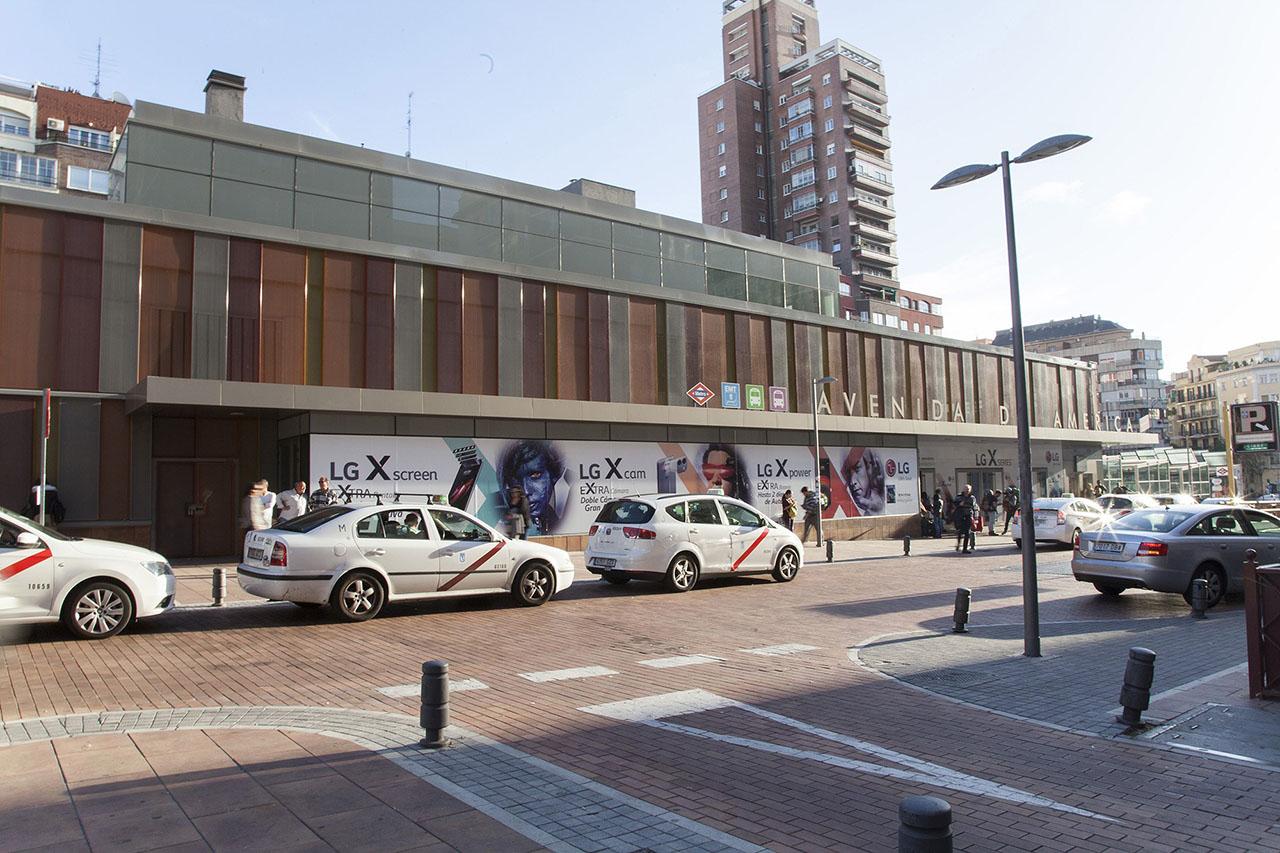 Lonas exteriores Madrid LG