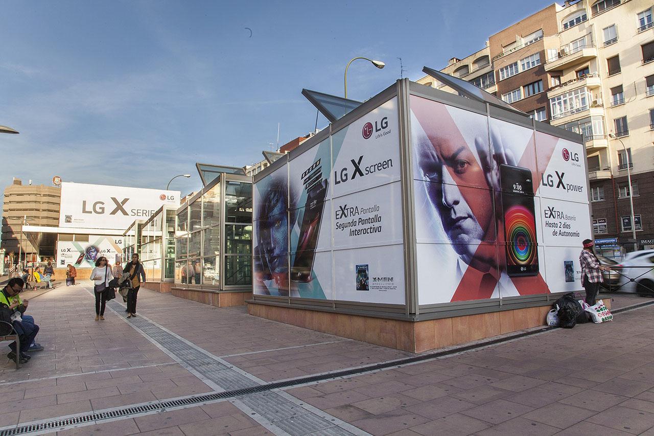 Cubos publicitarios marketing exterior
